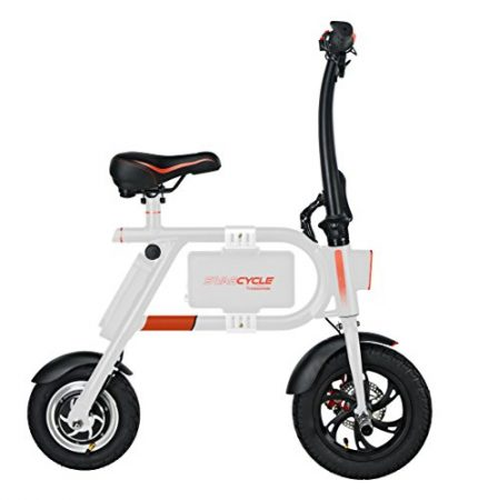 Swagcycle e-Bike Folding Electric Bicycle by Swagtron