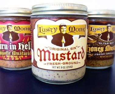 Aye, Matey, A Lusty Monk Mustard I Be