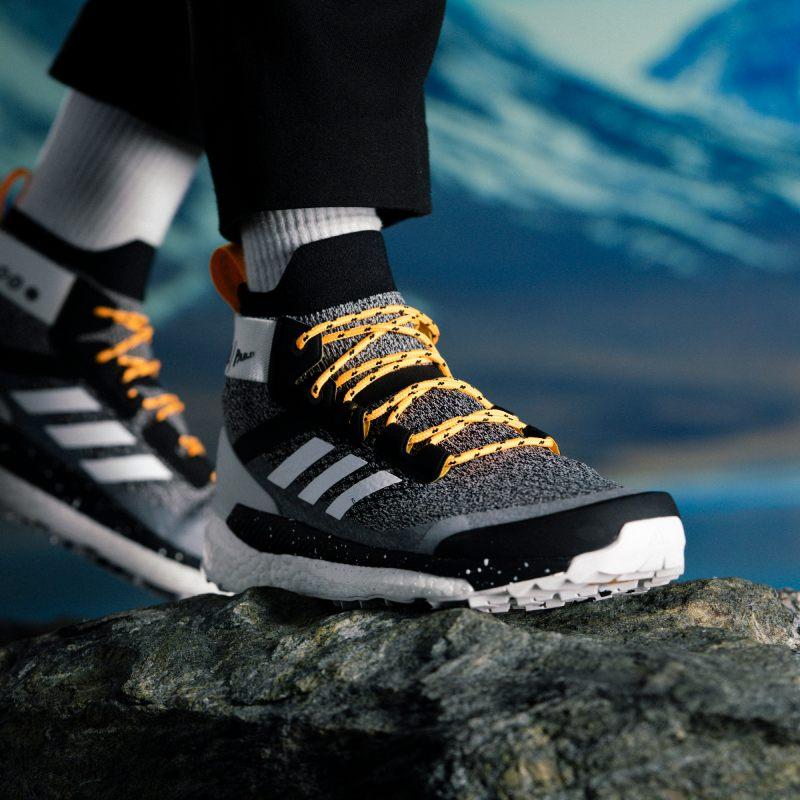 Adidas Recycled Ocean Plastic Hiking Shoe Terrex Parley