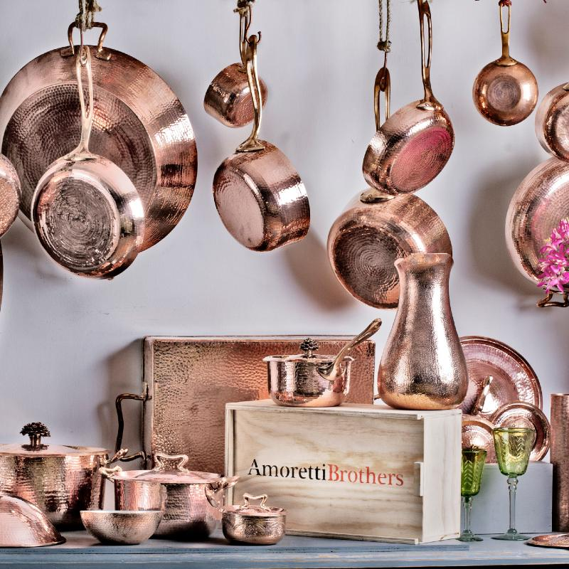 Amoretti Brothers Sustainable Cookware Recycled Copper