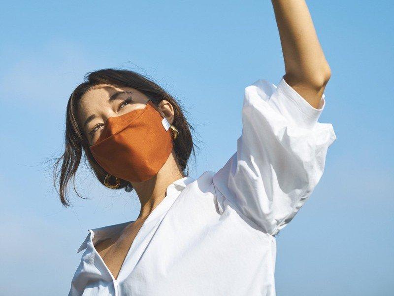 Anshin Organic Cotton Face Mask