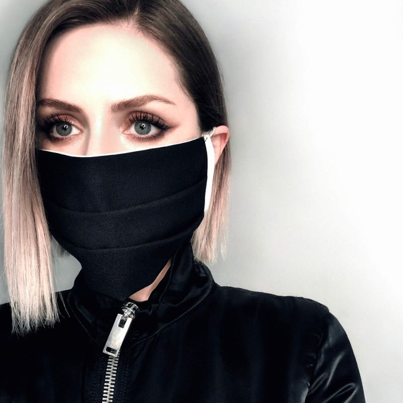 Bomme upcycled cotton reusable face mask