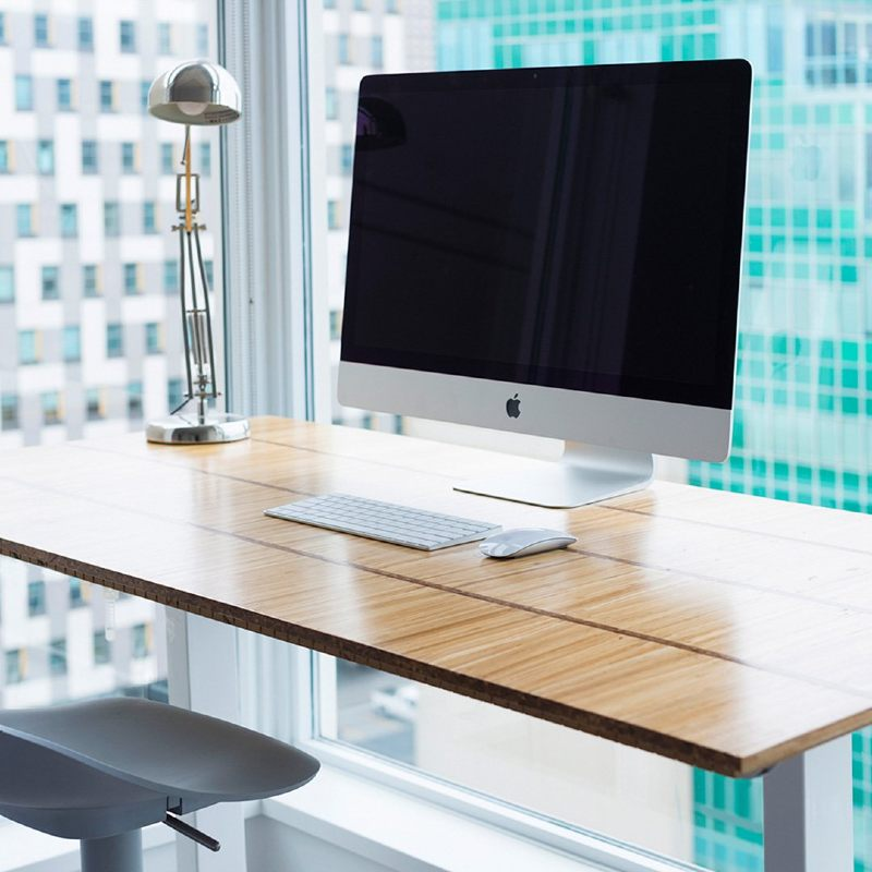 Chopvalue recycled workstation from chopsticks
