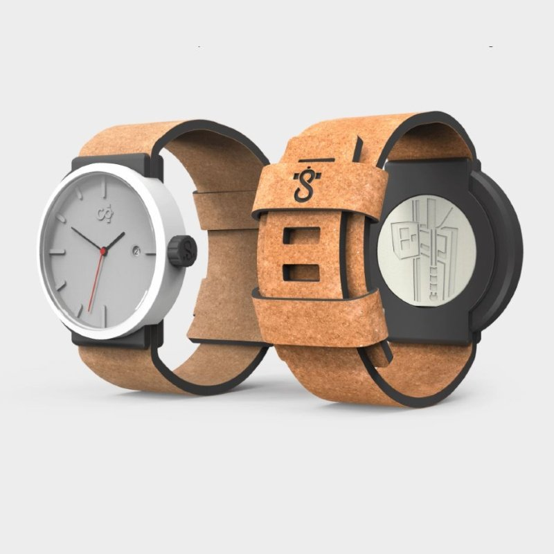 Circular Clockwork Watches Eco-Friendly Recycled Materials