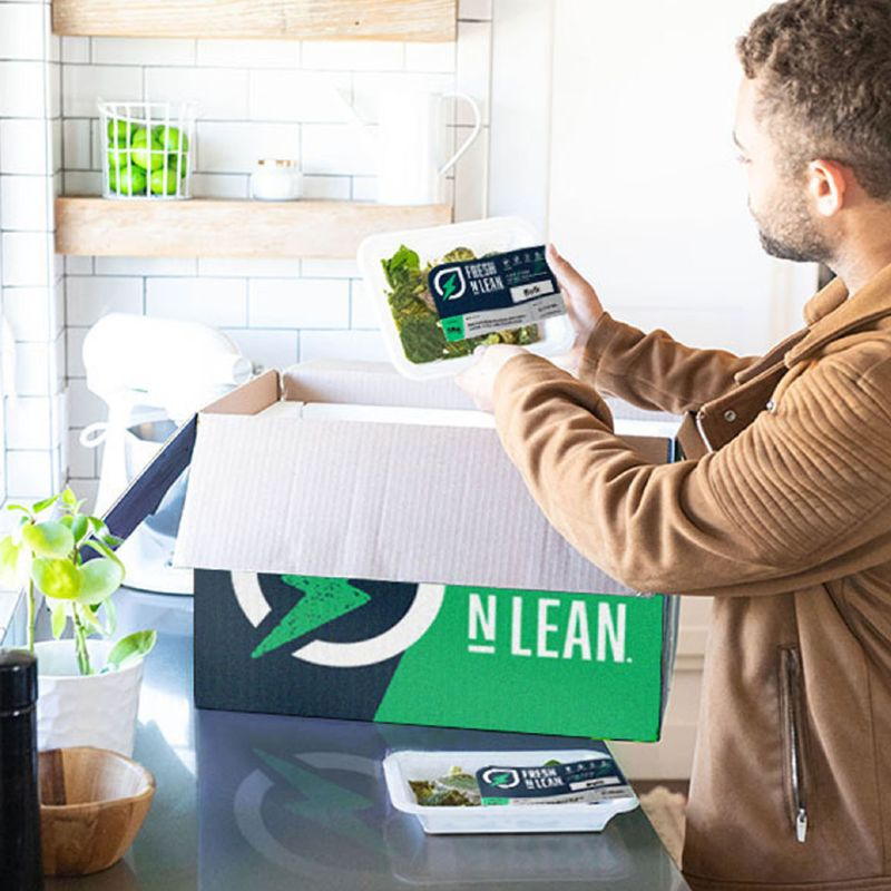 Fresh-n-lean Sustainable Home Meal Delivery Kit
