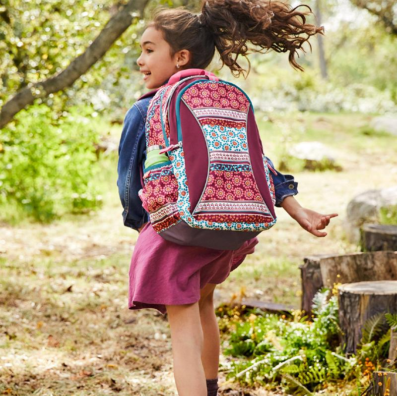 Garnet Hill Eco-Friendly Backpack Recycled Materials