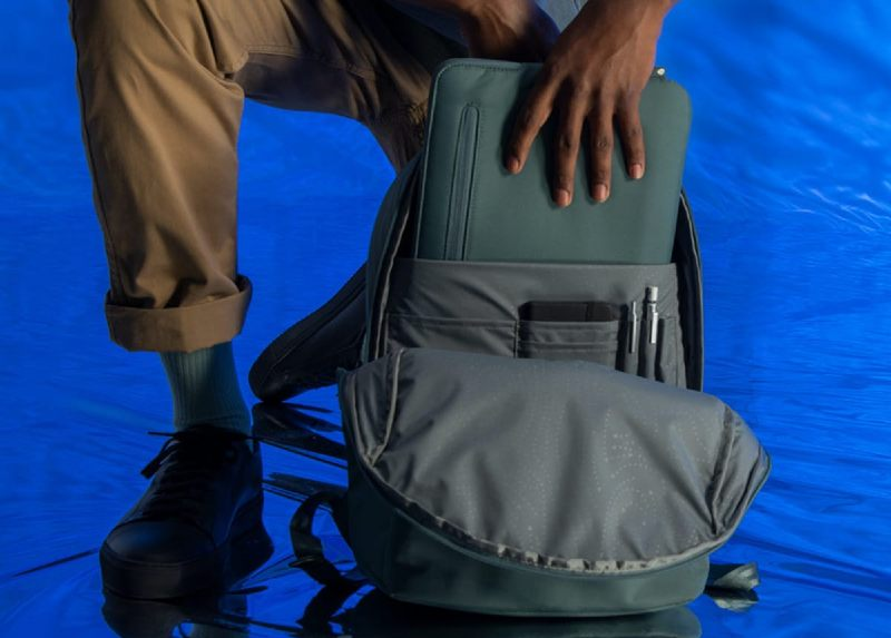 Incase Eco-Friendly Commuter Backpack Recycled Ocean Plastic Sustainable