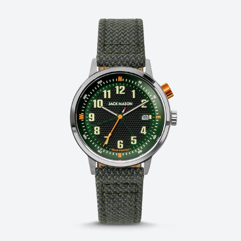 Jack Mason Solar Powered Eco Watch