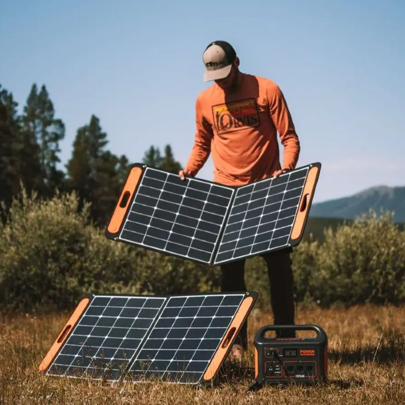 Jackery Solar And Generator Off Grid Living