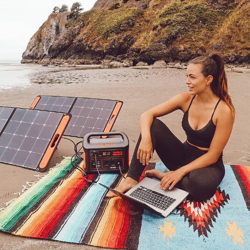 Jackery Solar Office Anywhere
