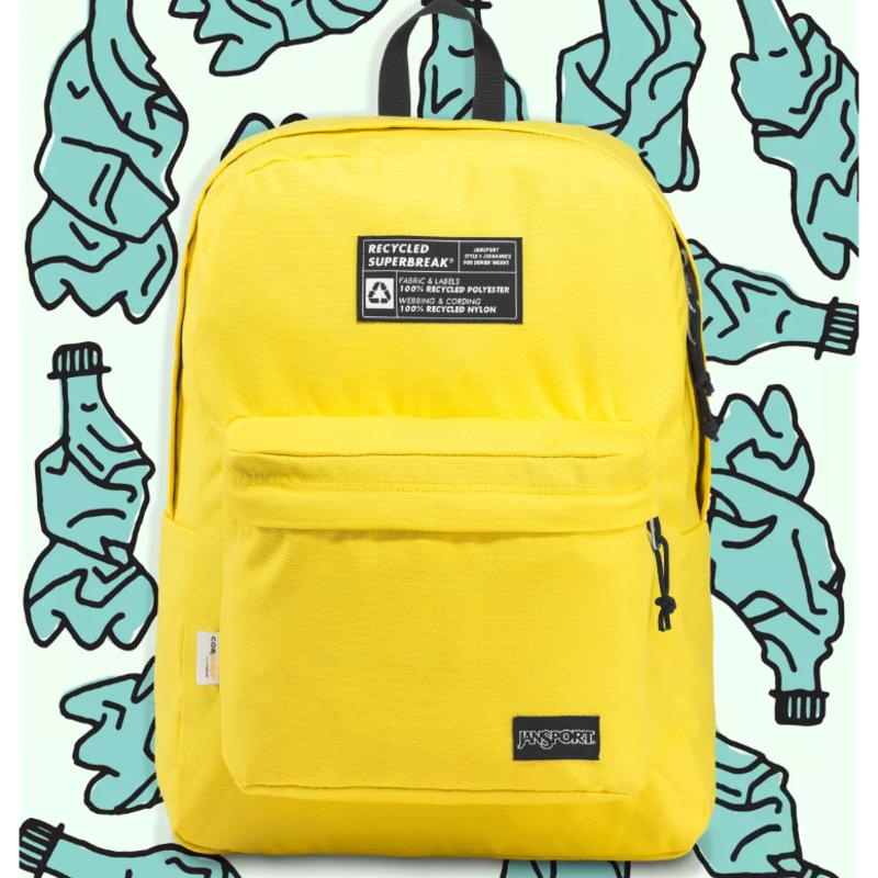 Jansport Eco-Friendly Kids Backpack Recycled Materials
