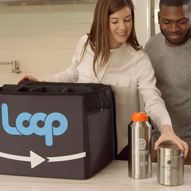 Loop Sustainable Reusable Packaging System