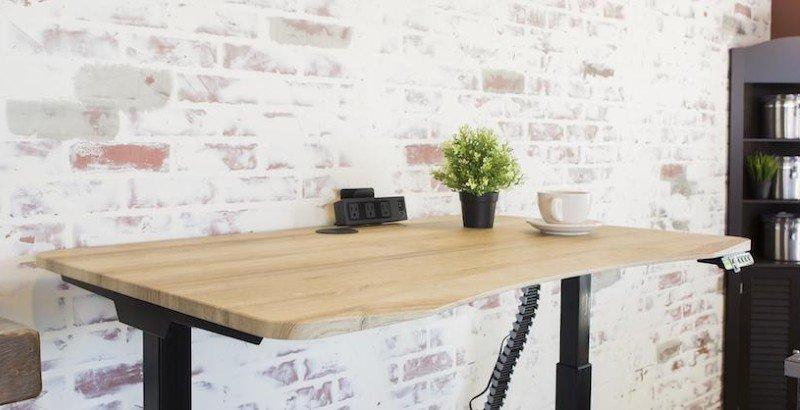 MojoDesk sustainable standing desk fsc wood