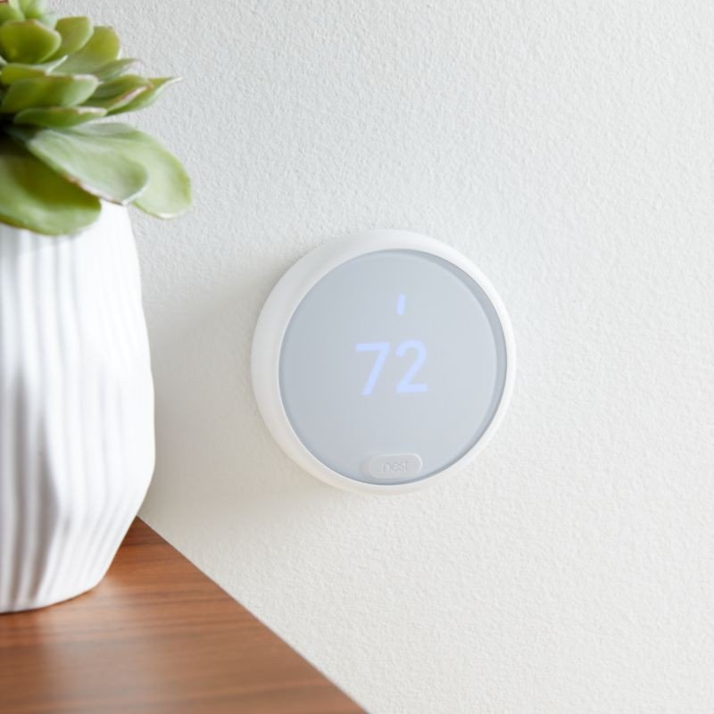 Nest Thermostat E Smart Learning Energy Saving