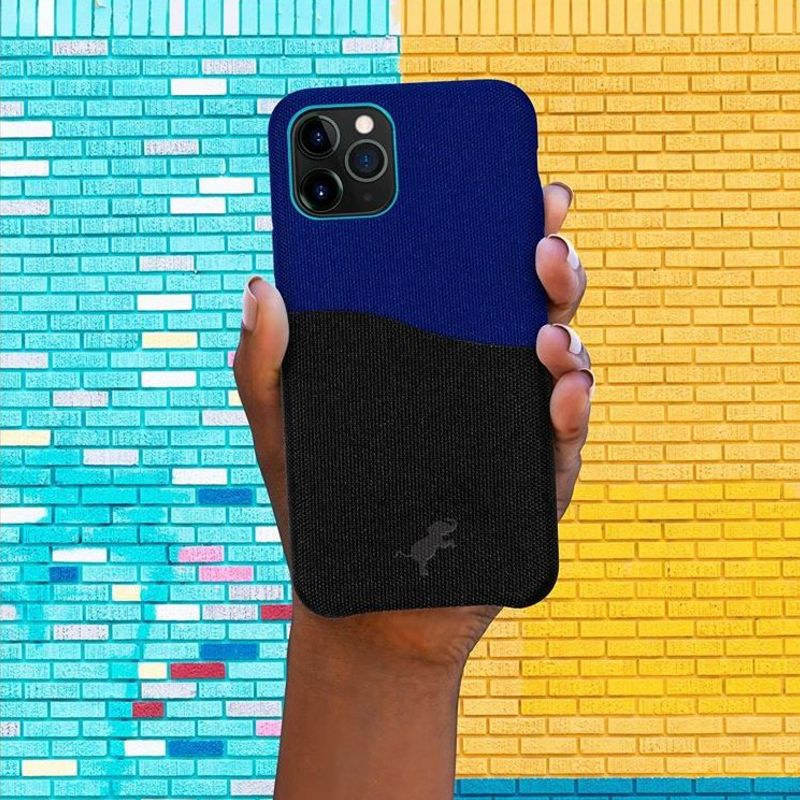 Nimble recycled phone case made from plastic bottles