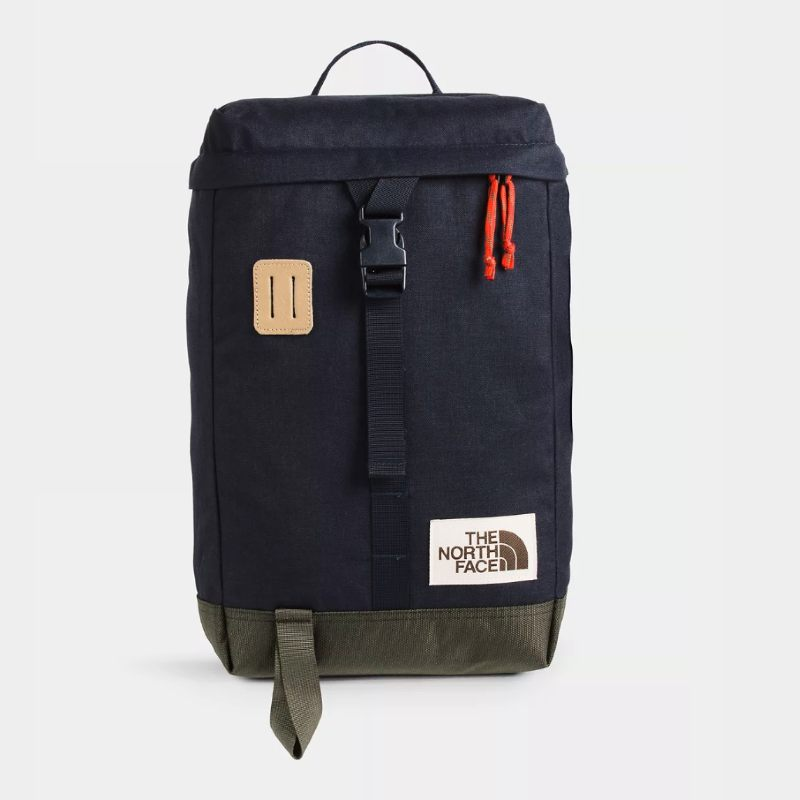 North Face Top Loader Sustainable Backpack Recycled Materials
