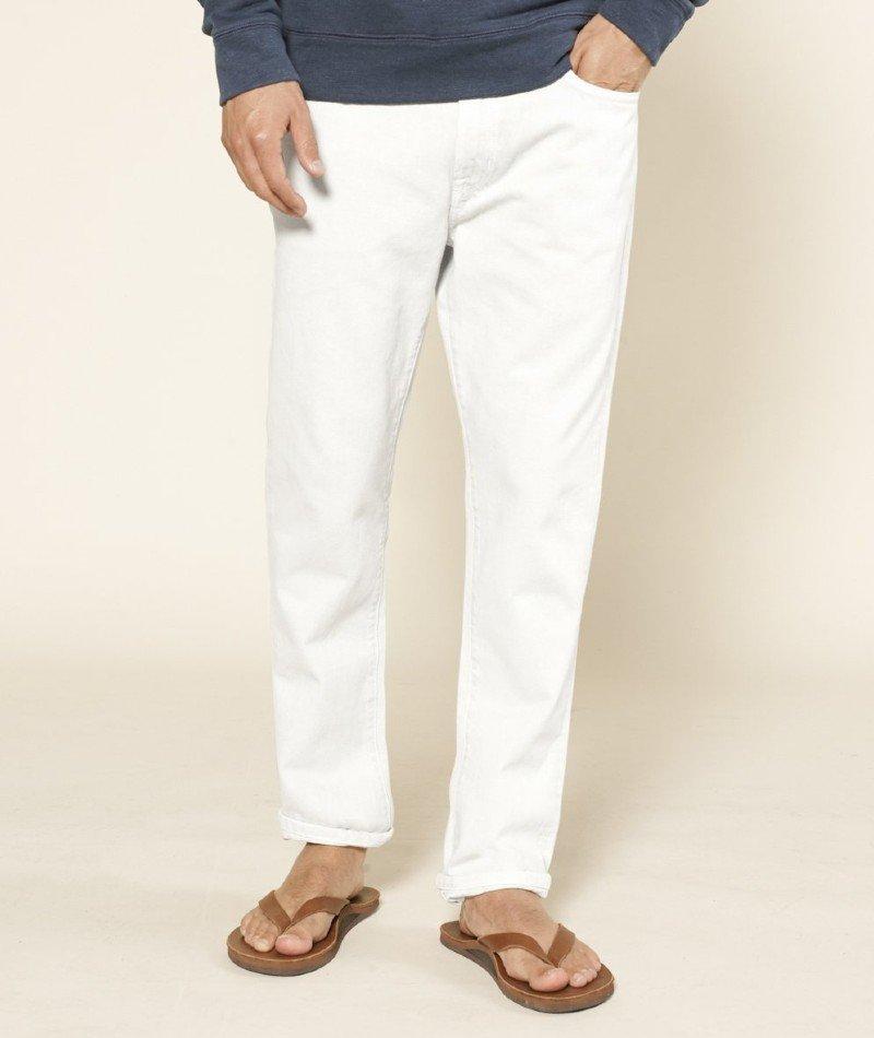 Outerknown Drifter Tapered Fit sustainable jeans