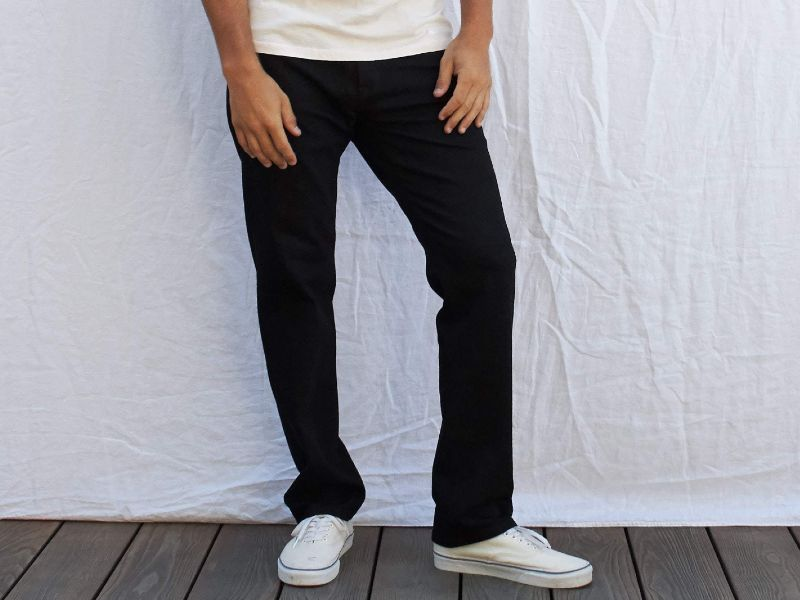 Outerknown Sustainable Straight Fit Jeans