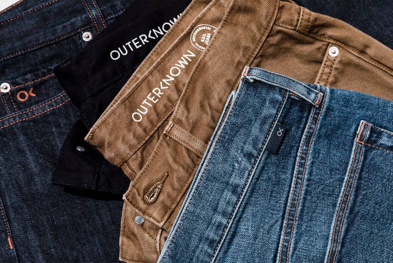 Outerknown jeans eco-friendly organic cotton