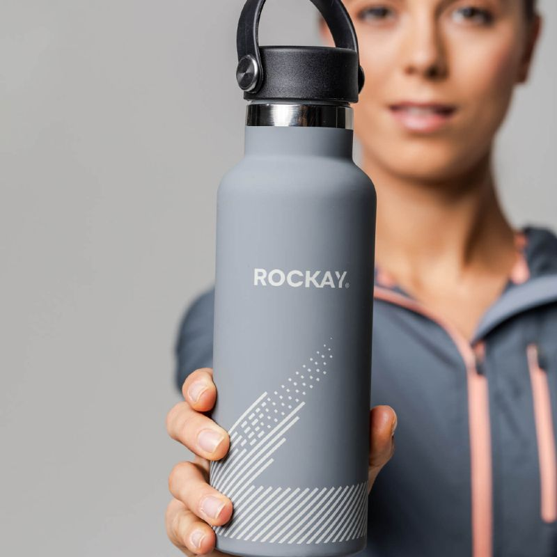 Rockay Recycled Reusable Water Bottle