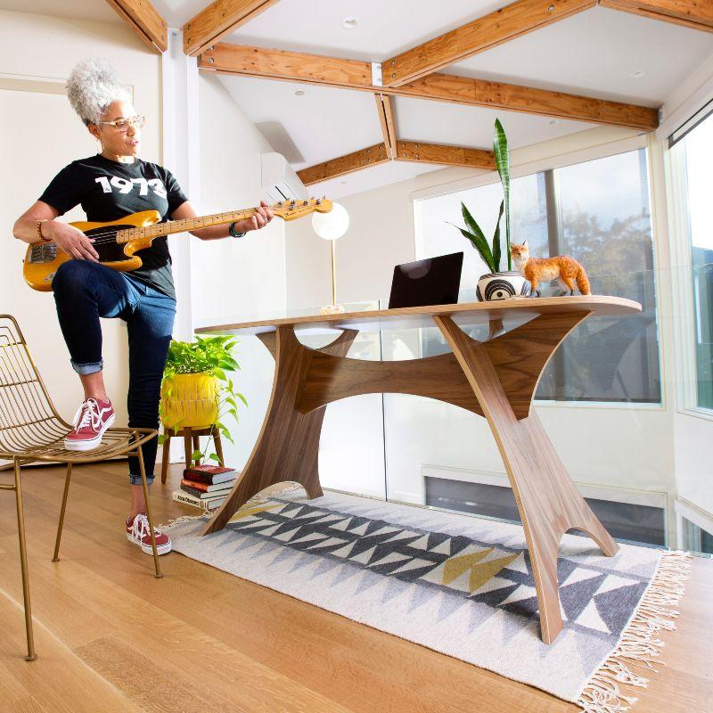 Simbly Eco-Friendly Desk Sustainably Harvested FSC Wood