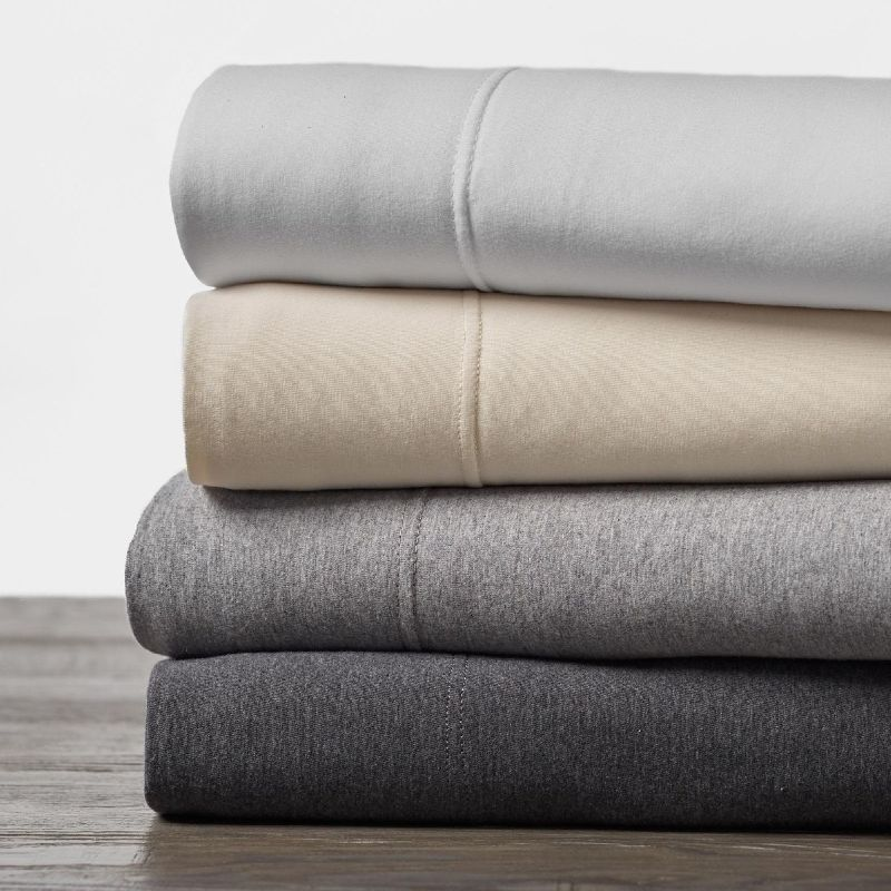 Sustainable Gifts Organic Cotton Jersey Sheets Coyuchi