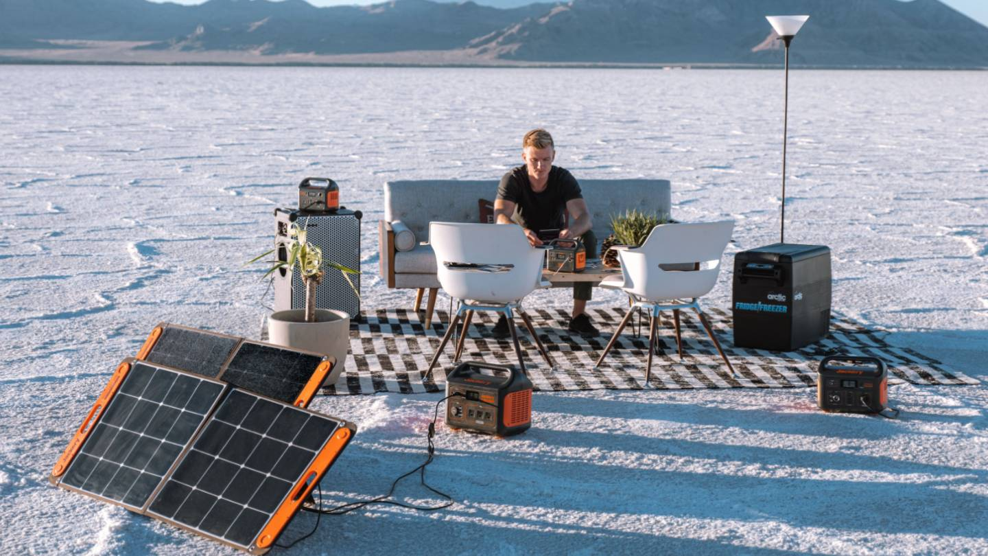 Sustainable Lifestyle Jackery Solar