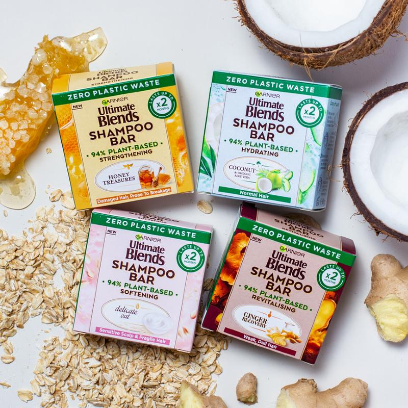 Sustainable Living Trend Loreal Garnier Shampoo Bars