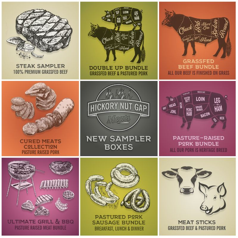Sustainable Meat Home Delivery From Hickory Nut Gap Farm