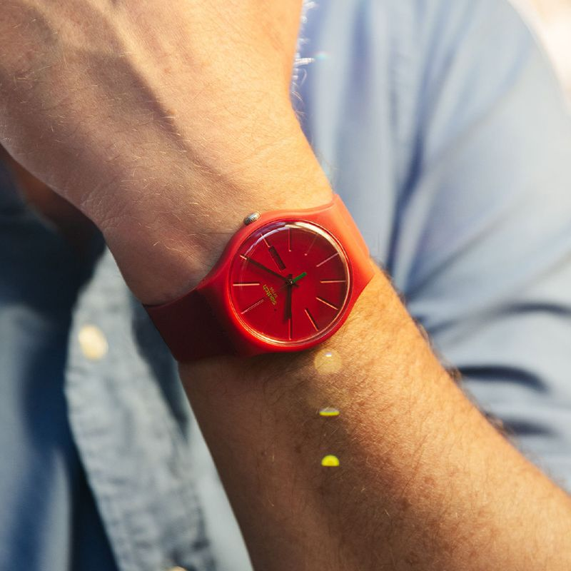 Swatch Bioplastic Sustainable Watch 1983