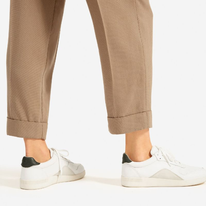 The Everlane Court Trainer sustainable materials recyled