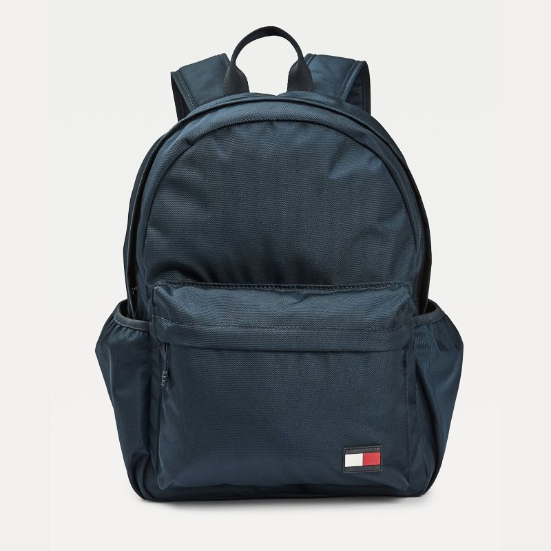 Tommy Hilfiger Blue Eco-Friendly Backpack Kids Recycled