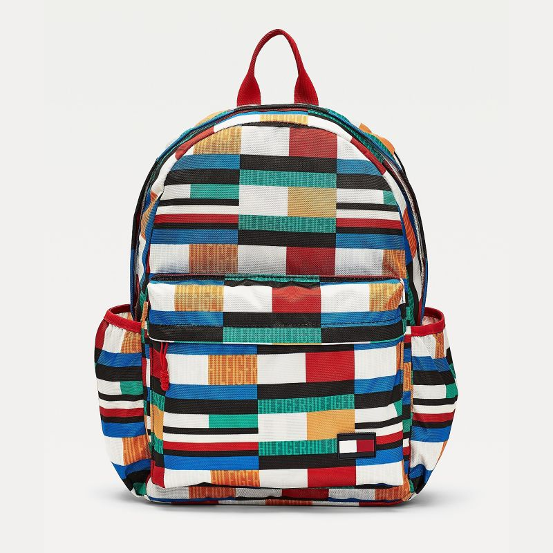 Tommy Hilfiger Eco-Friendly Backpack Kids Recycled Materials