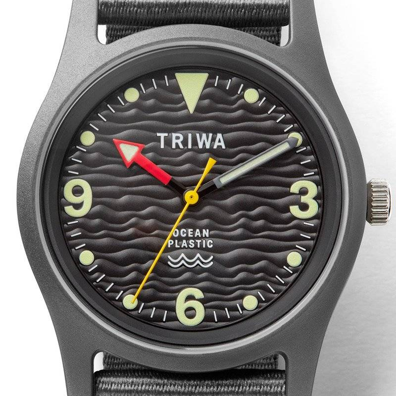 Triwa Recycled Ocean Plastic Watch Sustainable