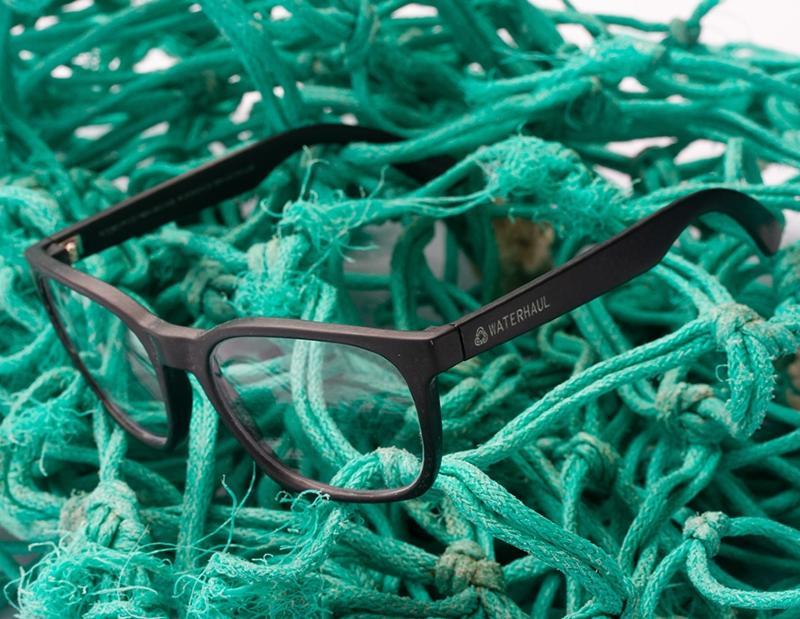 Waterhaul Eco-Friendly Eyeglasses Intercepted Ocean Plastic