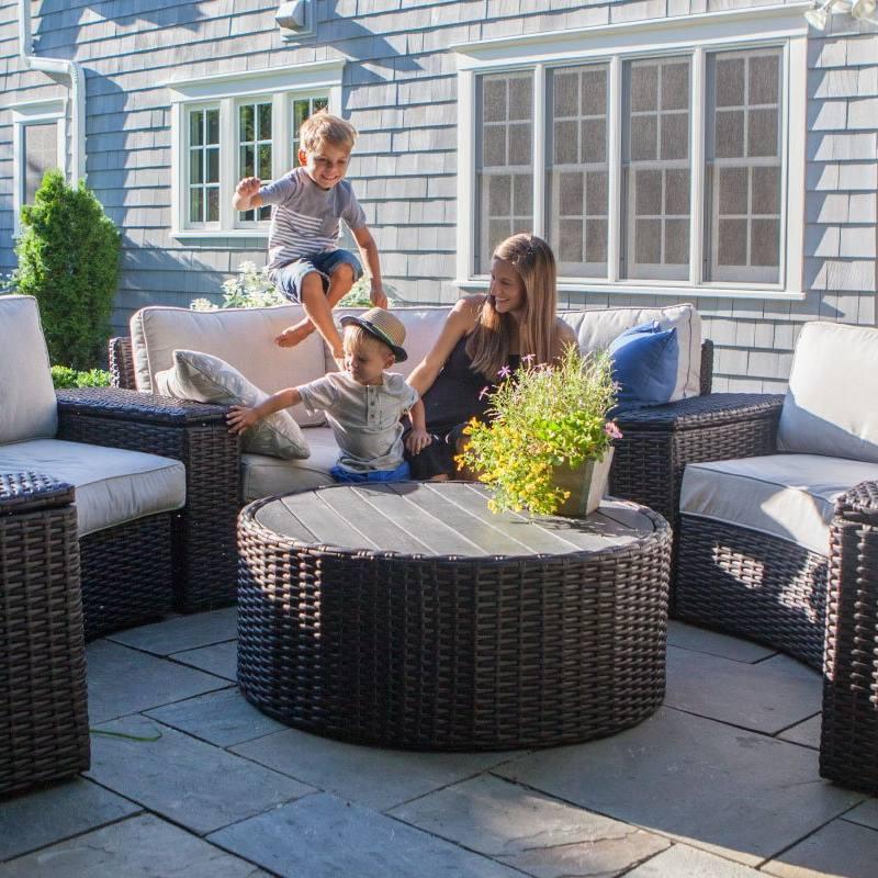 Yardbird Outdoor Furniture Intercepted Ocean Plastic Recycled