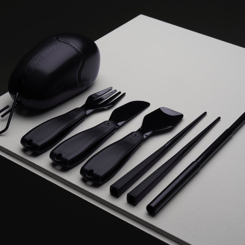 Zero Waste Lifestyle Pebble Triple Black by Otherware