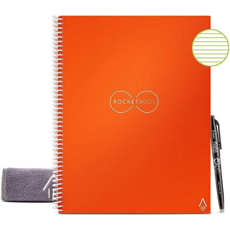 Zero Waste Lifestyle Rocketbook Reusable Notebook