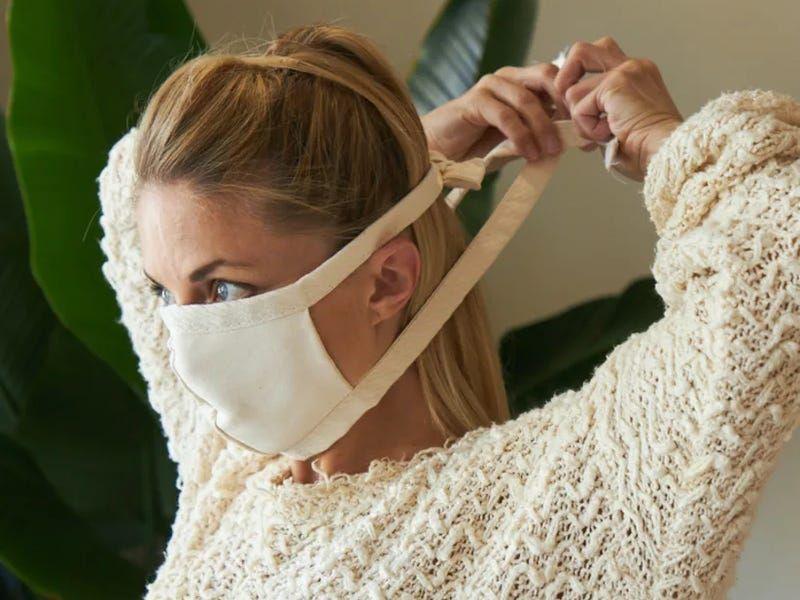 avocado organic cotton eco-friendly face mask covering