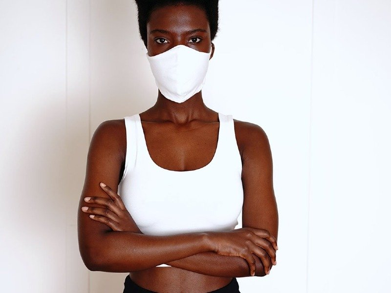 groceries apparel organic cotton face mask