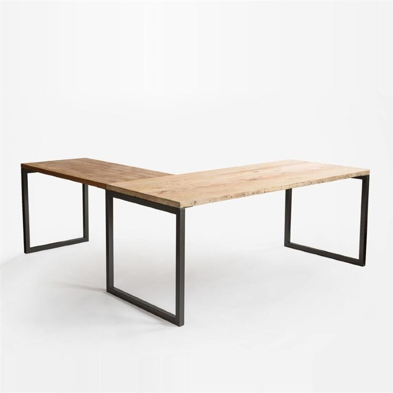 lattitude eco-friendly desk reclaimed douglas fir pine by urban wood goods