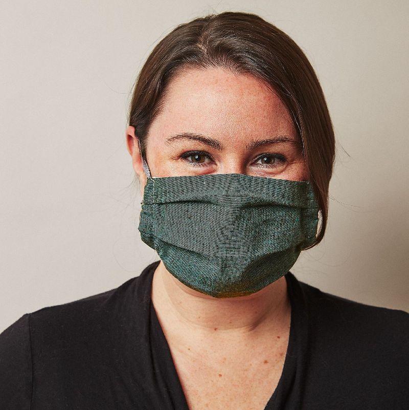 made trade eco-friendly face mask recycled hemp organic otton