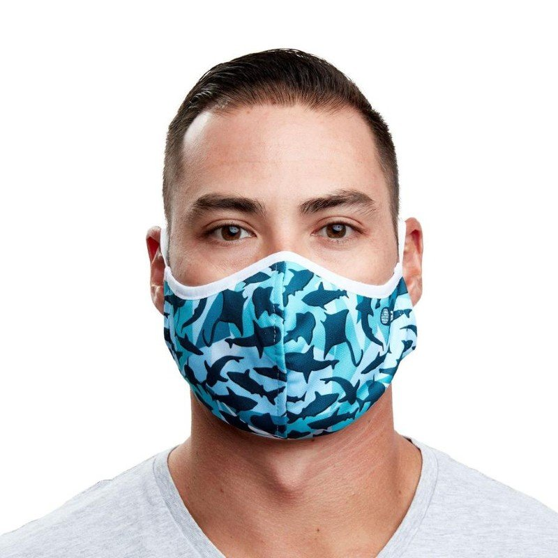 padi intercepted recycled ocean plastic reusable face mask