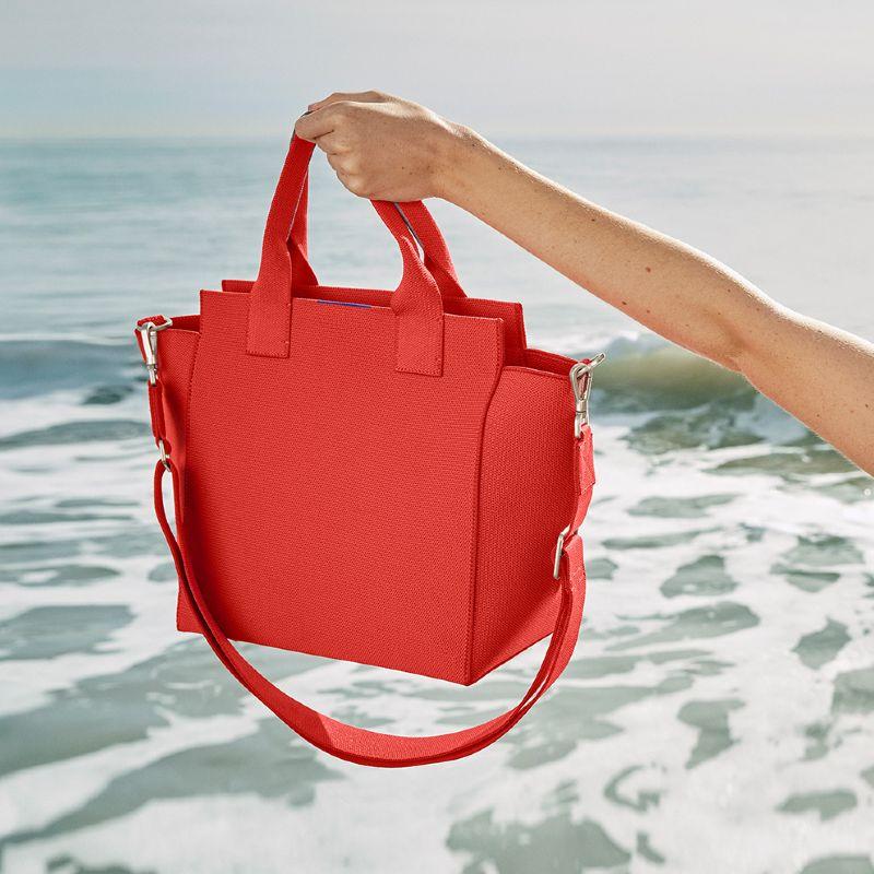rothy's handbag recycled ocean bound plastic
