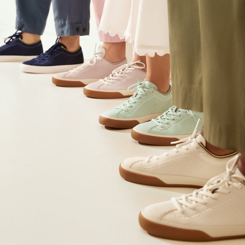 rothys recycled sustainable sneakers