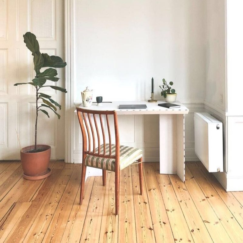 stykka stay the f*** home eco-friendly desk FSC recycled cardboard